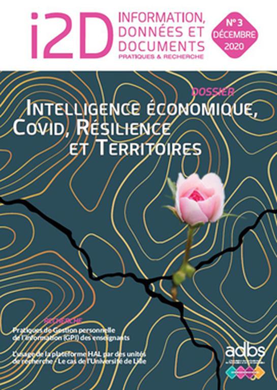 I2D N° 3/2020: Intelligence économique, COVID, résilience et territoires
