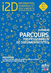 I2D N° 2/2019 : PARCOURS PROFESSIONNELS DE DOCUMENTALISTES