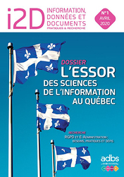 I2D N° 1/2020 : L'essor des sciences de l'information au Québec